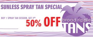Sunless Tanning Coupon
